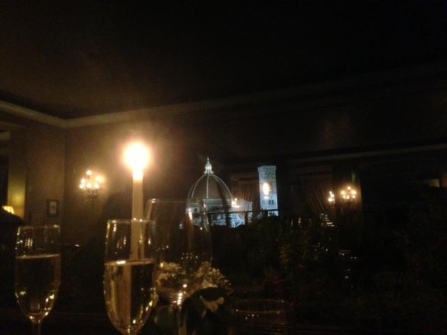 Cena alla Terrazza Brunelleschi (Hotel Baglioni, Firenze) - Il ...