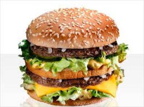 """Il """"Big Mac"""" di McDonald's mcdonald's o burger king"""