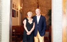 Maria Antonietta Corsi Francois con il marito Alessandro